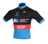Cycling wear uniport