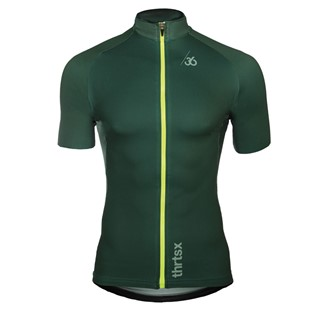Slider - wielershirt, groen