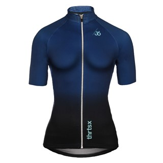 Slider - Ladies Cycling Jersey, blue/black
